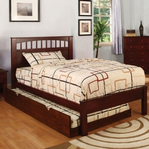 088FB Full Bed - Platform Bed<br><br>Paneled Headboard <br><br>Slat Kit Included<br><br>