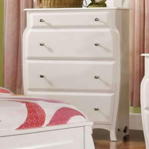 042CH Chest - Finish: Ivory<br><br>Dimensions: 33 3/8