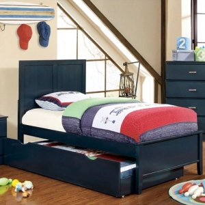 0128T Blue Twin Bed