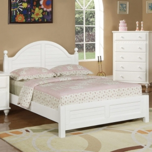 0976T Picket Fence Twin Bed