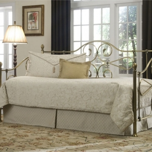022MDB Antique Brass Daybed