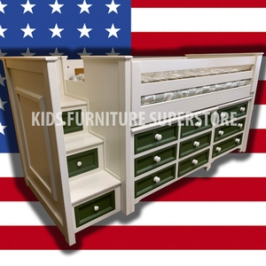 Item # US0030 - Made in USA<br><br>Durable & Super Strong<br><br>Available in 33 Different Color<br><br>Modifications Available<br><br>Different Knob & Drawer Front Options<br><br>Made to order<br><br>Available in Twin, Full & Queen Size<br>