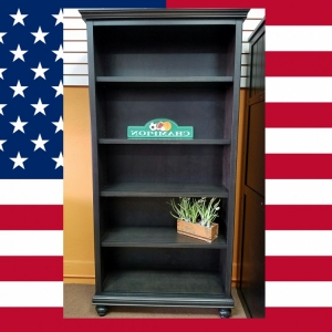 Item # US0033 Bookcase graphite - Made in USA<br><br>Durable & Super Strong<br><br>Available in 33 Different Color<br><br>Different Height Options<br><br>Modifications Available<br><br>Made to order