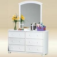 3310W Mirror in White - *Dresser Sold Separately*