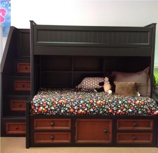 LB002  Harbortown loft bed w bottom Lounge Bed