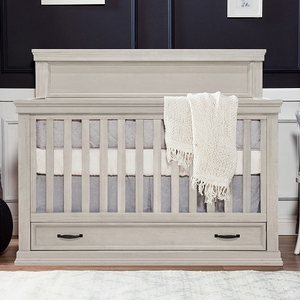 Item # 369CRB - Finish: London Fog<br>Available in Warm White, Windsor Grey & Driftwood finish<br>Assembled dimensions: 58.11L x 30.59W x 47.99H<br>Assembled weight: 105.82 lbs
