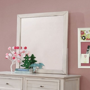 979M White Mirror - Style Transitional<br>