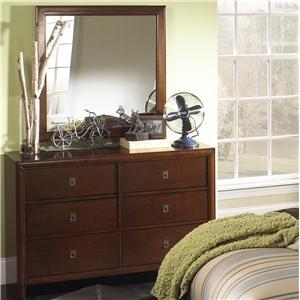 Item # 114DR 6 Drawer Dresser - Finish: Antique Walnut<br><br>*Mirror Sold Separately*<br><br>Dimensions: 52