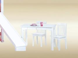KTB-W Kids Table in White - W23 1/4
