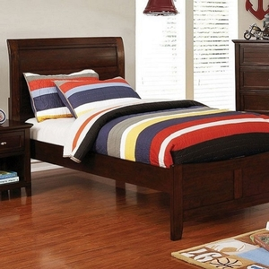 267T Twin Bed - Style Transitional<br> Color/Finish Brown Cherry<br> Material Solid wood, wood veneer<br> Product Dimension<br> Full Bed 80 3/8