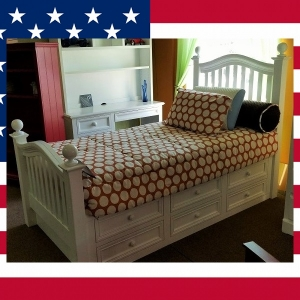 US0024 Twin Captain's Bed