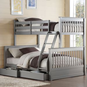 Item # A0085TF - Finish: French Gray<br><br>Slat Kit Included<br><br>Dimensions: 80