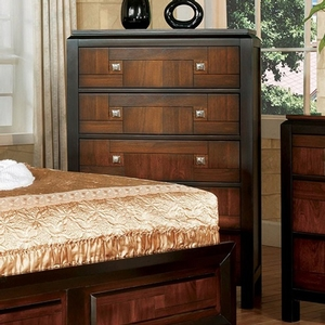 Item # 315CH Chest - Style Transitional<br> Color/Finish Acacia/Walnut, Material Solid wood, wood veneer, others<br> Hardware Nickel square knobs<br> Product Dimension <br> Chest 33 1/2