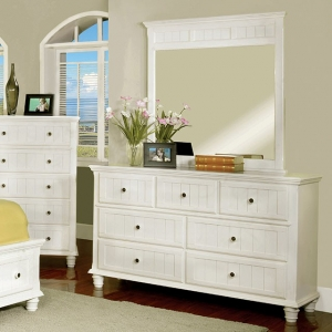 Item # 100DR Dresser - This updated cottage design dresser comes with full extension ball bearing drawers<br><br>