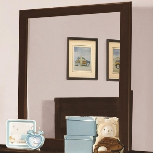 881M Mirror with Transitional Design - <B>Dimensions:</B>