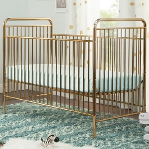 Item # 225CRB - Finish: Gold<br>Available in Pink Chrome Finish<br>Dimensions: 53.94
