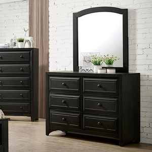 976M Dark Grey Mirror - Style Transitional<br> Color/Finish Dark Grey<br>