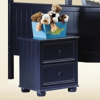 268NS Blue Nightstand