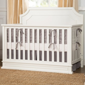 Item # 0002CRB - Made in Vietnam<BR> DIMENSIONS<BR> Assembled Dimensions: 57.125inx 31in x 47.125in<BR> Assembled Weight: 86 lbs<BR> Slat strength: 135 lbs<BR> MAXIMUM WEIGHT<BR> Toddler bed: 50 lbs<BR> Full-size bed: 500 lbs<BR>