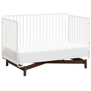 Item # 375CRB - Made in Vietnam<BR> DIMENSIONS<BR> Assembled Dimensions: 53.5in x 29.1in x 36.2in<BR> Assembled Weight: 74.97 lbs<BR> Takes a standard full-size crib mattress <BR> Slat strength: 135 lbs<BR> MAXIMUM WEIGHT<BR> Toddler Bed: 50 lbs<BR>