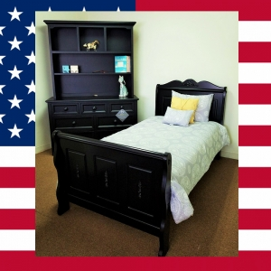 US0020 Sleigh bed