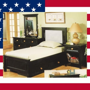 Item # US0029 Twin platform bed - Made in USA<br><br>Durable & Super Strong<br><br>Available in 33 Different Color<br><br>Modifications Available<br><br>Different Knob & Drawer Front Options<br><br>Made to order<br><br>Available in Twin, Full & Queen Size<br>