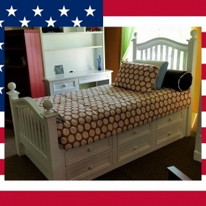 Item # US0024 Twin Captain's Bed - Made in USA<br><br>Durable & Super Strong<br><br>Available in 33 Different Color<br><br>Modifications Available<br><br>Made to order<br><br>Available in Twin, Full, Queen Sizes