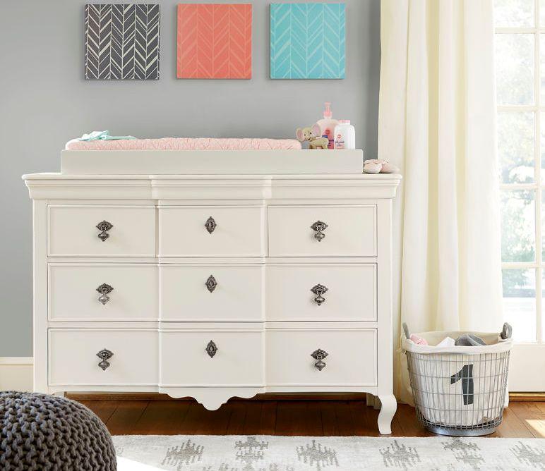 0521 French White Dresser