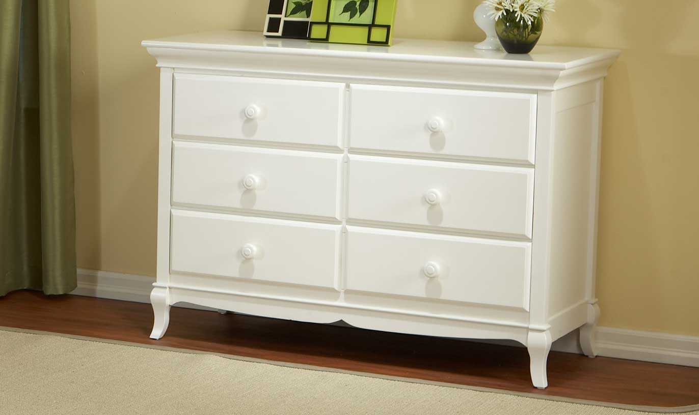 0561 Scalloped Double Dresser