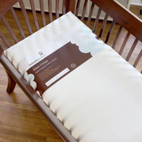 1004 Organic Cotton Classic Seamless Crib Mattress