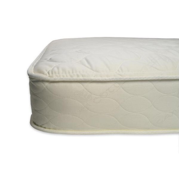 1006 Organic Cotton Quilted Deluxe 252 Crib Mattress