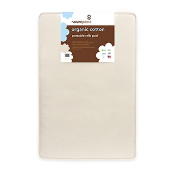 1008 Organic Cotton Portable Crib Mattress