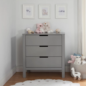 Item # 003CHT - Finish: Grey<br>Available in White & Grey/White finishes<br>Assembled Dimensions: 33.9 x 18.1 x 33.8<br>Assembled Weight: 85.98 lbs<br>Drawer Measurements : 26.875L x 15W x 5.125H