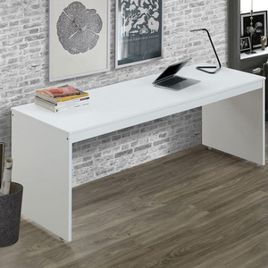 Item # 003D White Desk - Finish: White<br><br>Dimensions: 78