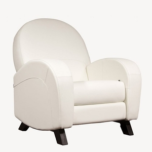 Item # 005GLR - *Ottoman Sold Separately*<br><br>Dimensions: 34 3/4W x 37 3/4D x 40 1/4H