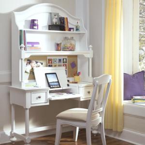 Item # 005HC Desk Hutch - Finish: Natural White<br><br>Desk Sold Separately<br><br>Dimensions: 46W x 12D x 30H