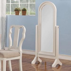 Item # 007CM Cheval Mirror - Finish: White<br><br>Dimensions: 23