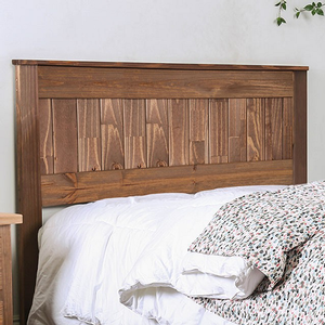 Item # 008HB Wood Headboard - Finish: Mahogany<br><br>Style: Rustic<br><br>Available in Full, Queen & E. King Size<br><br>Dimensions: 42