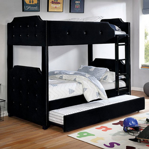 Item # 023TR Trundle - Finish: Black<br><br>Dimensions: 75 1/4