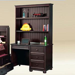 Item # 037HC Large Hutch in Walnut - Finish: Walnut<br><br>Desk Sold Separately