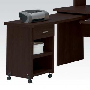 Item # 109D Side Desk with Drawer - Finish: Espresso<br><br>Dimensions: 47