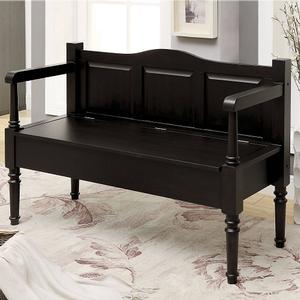 Item # 001SB Storage Bench in Dark Walnut - Finish: Dark Walnut<br><br>Available in Weathered Natural Tone<br><br>Dimensions: 48W x 18D x 32H<br><br>Seat Ht: 17 5/8H , Seat DP: 16 1/2
