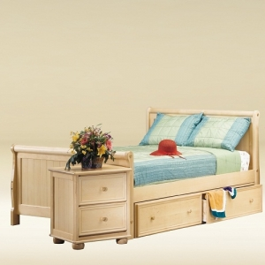 Item # 0507 Full Size Sleigh Bed - L83