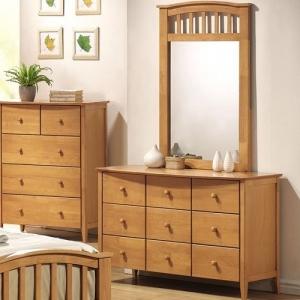 Item # 047DR Dresser - Finish: Maple<br><br>Mirror Sold Separately<br><br>Dimensions: 49