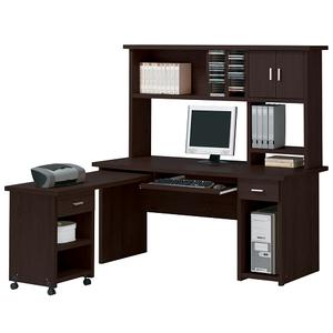 Item # 108D Computer Desk - Finish: Espresso<br><br>Dimensions: 63