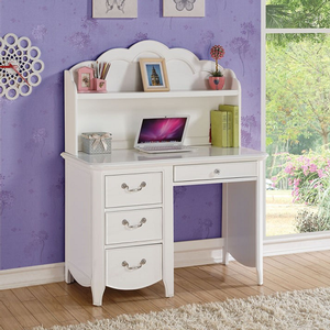 Item # 175HC Elegant White Hutch - Finish: White<br><br>Desk Sold Separately<br><br>Dimensions: 42