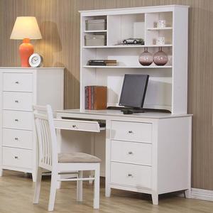Item # 178HC Hutch - Finish: White<br><br>Desk Sold Separately<br><br>Dimensions: 44