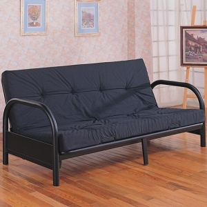 Item # 010FN Futon Frame - *Futon Pad Sold Separately*