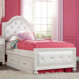 Item # A0002T - Accommodates Trundle/Storage<br><br>Drawer or underbed storage drawer<br<br>Offers low and high rail positions<br><Br>