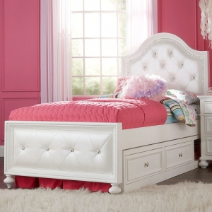 Item # 036FB Full Upholstered Bed - Accommodates Trundle/Storage<br><Br>Offers low and high rail positions<br><br>Drawer or Underbed Storage Drawer<br><Br>